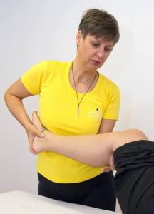 Heike Behandlung Knie